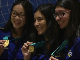 Jillian Parker, Arooba Ahmed and Jiachen Lee - National Finalist - Team