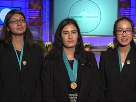 Jillian Parker, Jiachen Lee and Arooba Ahmed Team Winner Soundbites