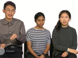 Anlin Zhang, Rachana Madhukara & Kevin Ren, Team Finalists Story Video