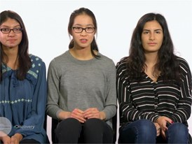 Jillian Parker, Arooba Ahmed & Jiachen Lee, Team Finalists Story Video