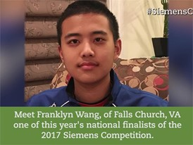 Short Profile Individual, Franklyn Wang
