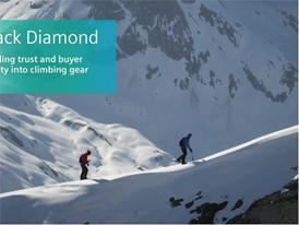 Digitalization helps Black Diamond earn buyer loyalty and climber trust