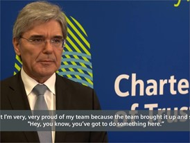 Joe Kaeser, President & CEO, Siemens On the Charter of Trust and the need for action