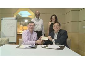 Six Capital ATA Partnership Signing