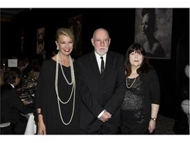 Kathy Dobers (Cartier) Albert Watson and Elizabeth Watson  Credits Foto Flury