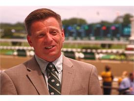 Richard Migliore, Retired Jockey and Racing Analyst, NYRA