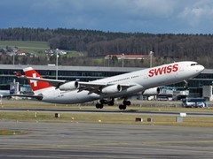 SWISS operates first flight to Osaka