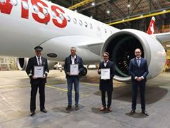 SWISS concludes Airbus A220 fleet renewal with 30th delivery