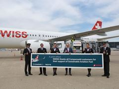 SWISS becomes first commercial airline to fly from Switzerland with sustainable aviation fuel