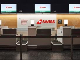 Modernized SWISS check-in in Zurich's Temrinal 1