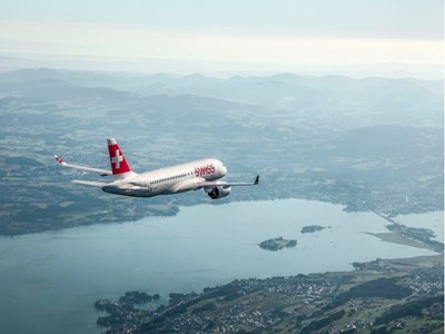 SWISS now offers a Geneva-London City flight operated by a C Series aircraft