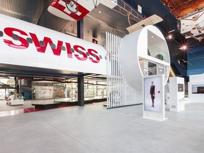 SWISS offers new expanded exhibit with attractions for all the family at the Swiss Museum of Transpo