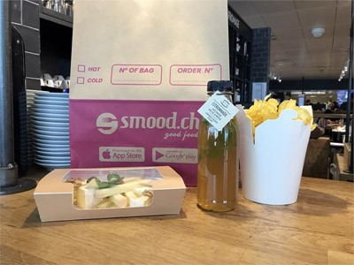 SWISS launches a new boarding-gate snack delivery service