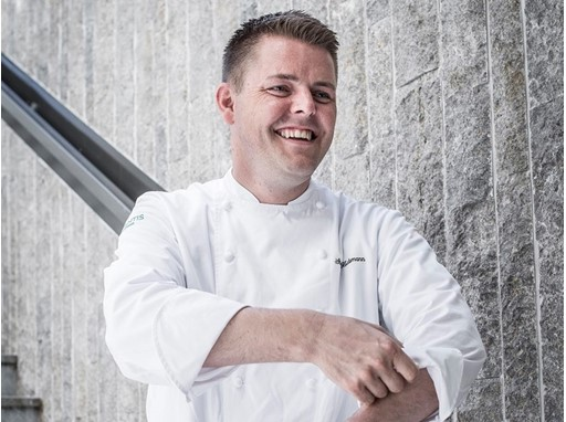 Stefan Heilemann from Zurich created the dishes for the latest chapter of SWISS Taste of Switzerland