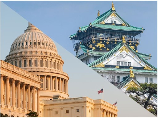 New destinations: Washington, D.C. (USA) and Osaka (Japan)