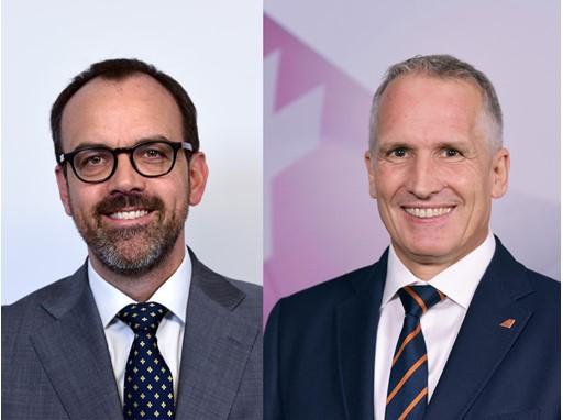 CFO Markus Binkert, COO Thomas Frick