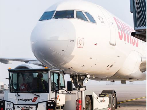 Aircraft handling at Zurich Airport
