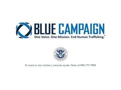 La Campaña Azul del Departamento de Seguridad Nacional de los EE. UU. busca combatir la trata de personas con un nuevo anuncio de servicio público