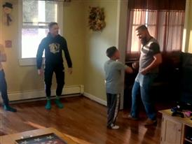 Dad and Son Dance Off :30
