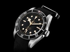 TUDOR unveils a new black version of its emblematic Heritage Black Bay divers' watch