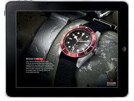 Apple iPad Tudor Heritage Black Bay