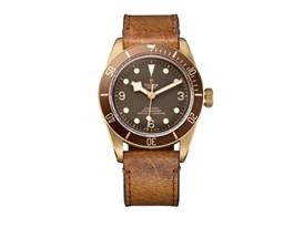 TUDOR Heritage Black Bay Bronze 4 brown leather brown