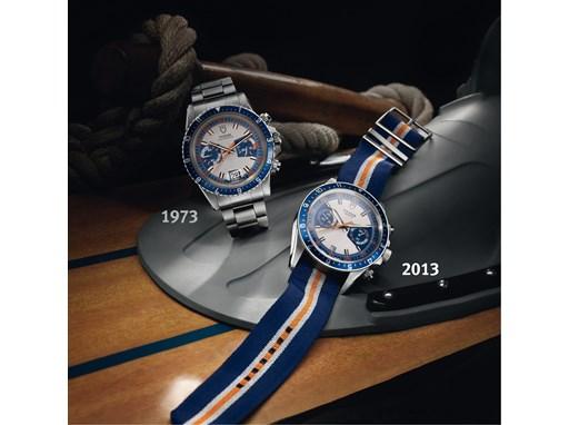 TUDOR Heritage Chrono Blue 1
