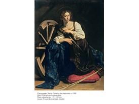 Caravaggio, Santa Catalina de Alejandria, c.1598