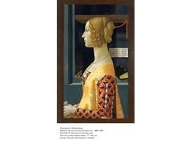 Domenico Ghirlandaio, Retrato de Giovanna Tornabuoni, 1489-1490