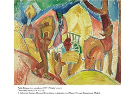 Pablo Picasso, Los segadores, 1907 (The Harvesters)