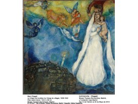 Last Weekend of Marc Chagall's Retrospective Exhibition in Madrid