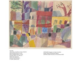 Klee - Red And Yellow Houses In Tunis