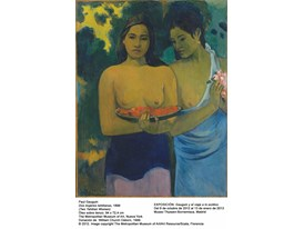 Gauguin - Two Tahitian Women