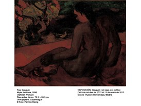Gauguin - Tahitian Woman