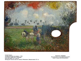 The Artist's Palette With A Landscape