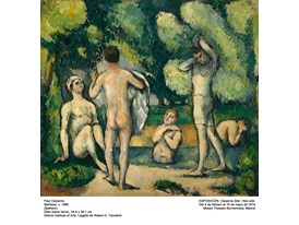 """Bathers"" by Paul Cézanne (1880)"