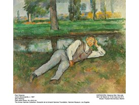 """Boy Resting"" by Paul Cézanne (1887)"