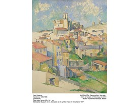 """Gardanne"" by Paul Cézanne (1885-1886)"