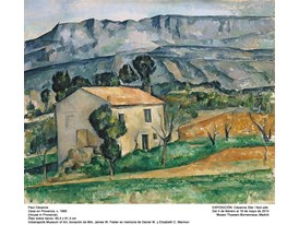 """House in Provence"" by Paul Cézanne (1885)"