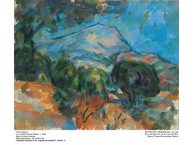 """Mount Saint Victoire"" by Paul Cézanne (1904)"