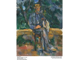 """Portrait of a Peasant"" by Paul Cézanne (1905-1906)"