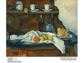 """The Buffet"" by Paul Cézanne (1877-1879)"