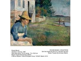Munch - Evening - 1888