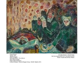 Munch - Death Struggle - 1915