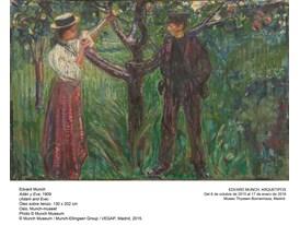 Munch - Adam and Eve - 1909