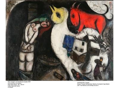 Primer fin de semana para visitar la retrospectiva de Marc Chagall en Madrid