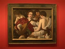 Caravaggio Exhibition Paintings