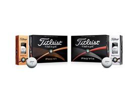 Titleist Pro V1 & Pro V1x golf balls