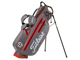 Titleist 4UP StaDry stand bag (Grey/Orange)