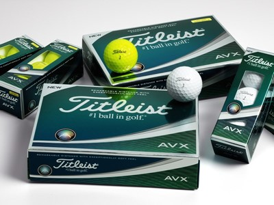 Titleist Introduces New AVX Golf Balls